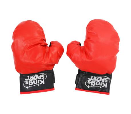 vidaXL Punching ball de boxeo para niños 87-120 cm[4/6]