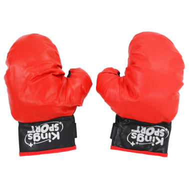vidaXL Punching ball de boxeo para niños 87-120 cm[3/6]