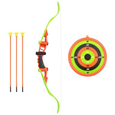 vidaXL Set de tiro con arco para niños de 5 piezas 68 cm[1/6]