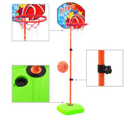 vidaXL Kids' Basketball Hoop and Ball Set