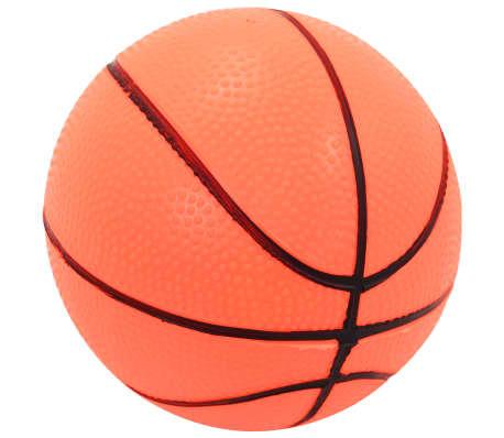 vidaXL Canasta de baloncesto y balón para niños[5/8]