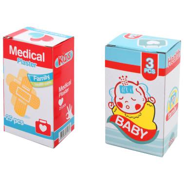 vidaXL Juego de ir al médico para niños 15 piezas 38x30x67,5 cm[8/8]