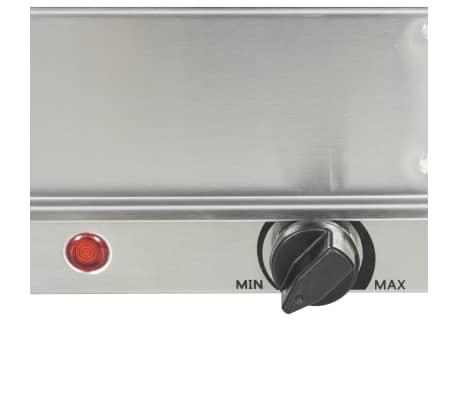 vidaXL Serveur buffet Acier inoxydable 200 W 2x1,5 L[5/5]