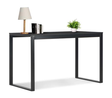 "vidaXL Computer Desk Black 47.2""x23.6""x28.7""[1/7]"