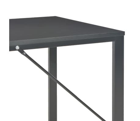 "vidaXL Computer Desk Black 47.2""x23.6""x28.7""[6/8]"
