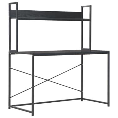 "vidaXL Computer Desk Black 47.2""x23.6""x54.3""[2/9]"