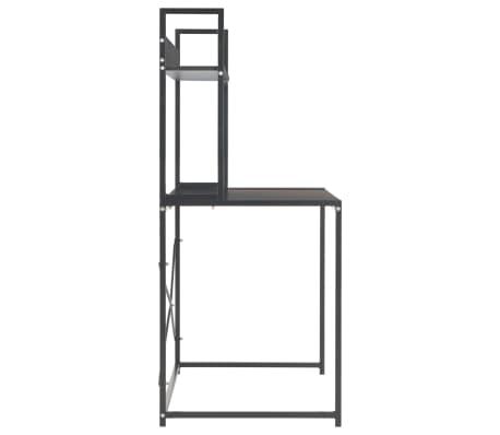 "vidaXL Computer Desk Black 47.2""x23.6""x54.3""[5/9]"