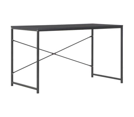 "vidaXL Computer Desk Black 47.2""x23.6""x27.6"""