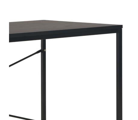 "vidaXL Computer Desk Black 47.2""x23.6""x27.6""[6/8]"