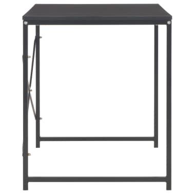 "vidaXL Computer Desk Black 47.2""x23.6""x27.6""[5/8]"