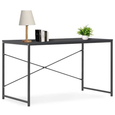 "vidaXL Computer Desk Black 47.2""x23.6""x27.6""[1/8]"