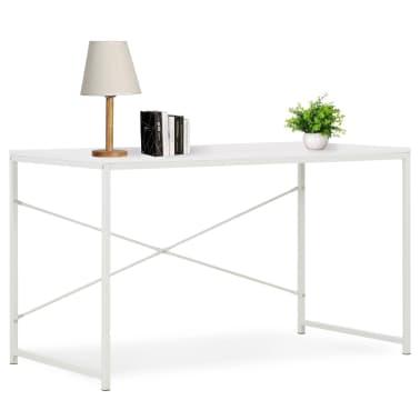 "vidaXL Computer Desk White 47.2""x23.6""x27.6""[1/8]"