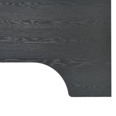"vidaXL Computer Desk Black 47.2""x28.3x27.6""[7/8]"