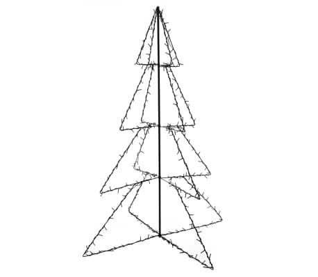 vidaXL Ozdoba świąteczna w kształcie choinki, 240 LED, 115x150 cm[2/4]