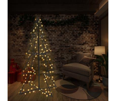 vidaXL Ozdoba świąteczna w kształcie choinki, 240 LED, 115x150 cm[1/4]