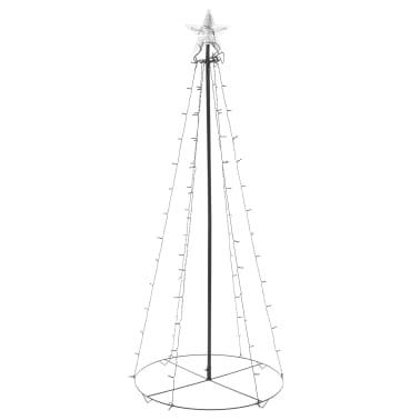 vidaXL kegleformet juletræ 96 LED