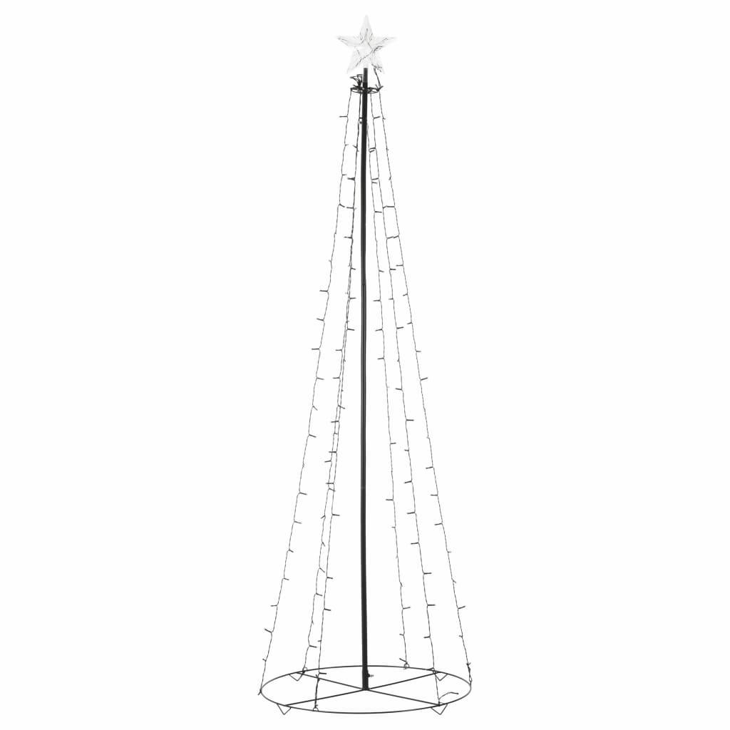 99951014 Weihnachtskegelbaum 140 LEDs Innen und Außen 72 x 240 cm