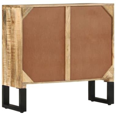 vidaXL Buffet 80 x 30 x 76 cm Bois de manguier massif[5/11]