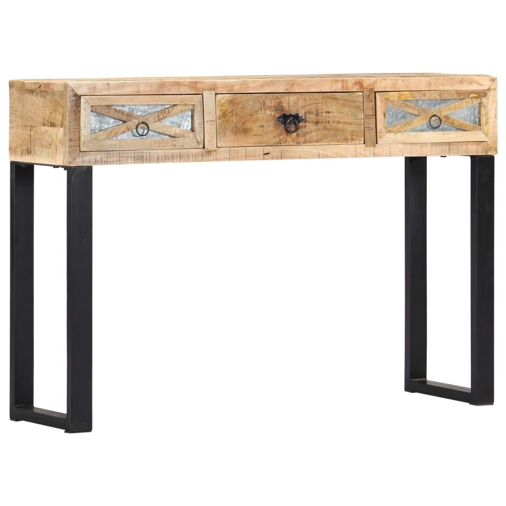 vidaXL Masă consolă, 110 x 30 x 76 cm, lemn masiv de mango poza 2021 vidaXL