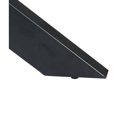 vidaXL Eettafel rond 150x76 cm massief mangohout[8/15]
