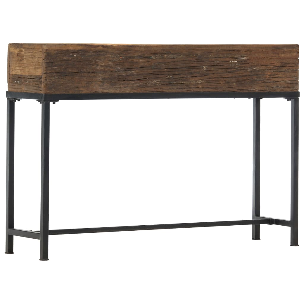 vidaXL Masă consolă, 120 x 30 x 80 cm, lemn masiv reciclat vidaxl.ro