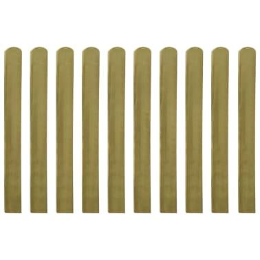 vidaXL Impregnuoti tvoros skersiniai, 30vnt, 100cm, mediena (3x42011)[1/2]