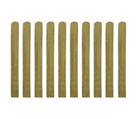 vidaXL Impregnuoti tvoros skersiniai, 30vnt, 100cm, mediena (3x42011)[2/2]