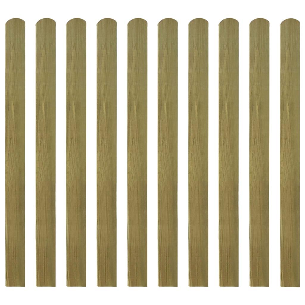 vidaXL Șipci de gard din lemn tratat, 20 buc., 120 cm poza vidaxl.ro