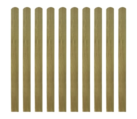 vidaXL Impregnuoti tvoros skersiniai, 20vnt, 120cm, mediena (2x42012)[2/2]