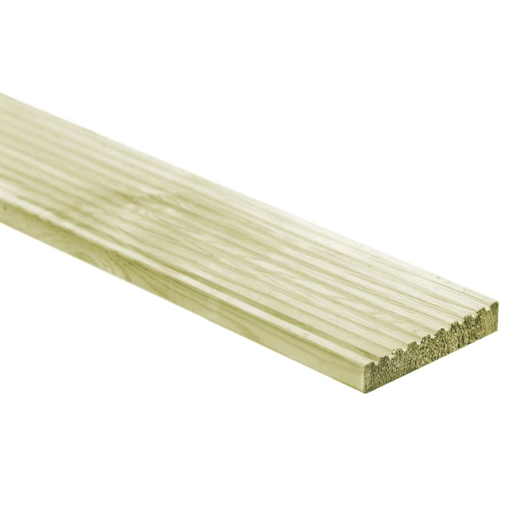 vidaXL Plăci de pardoseală, 12 buc., 150 x 14,5 cm, lemn poza vidaxl.ro