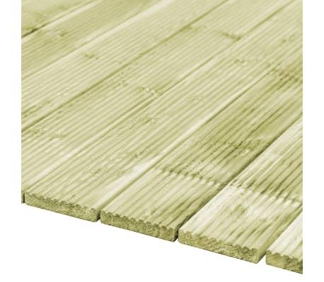 vidaXL Grindų dangos plokštės, 12vnt., 150x14,5cm, FSC mediena[2/4]