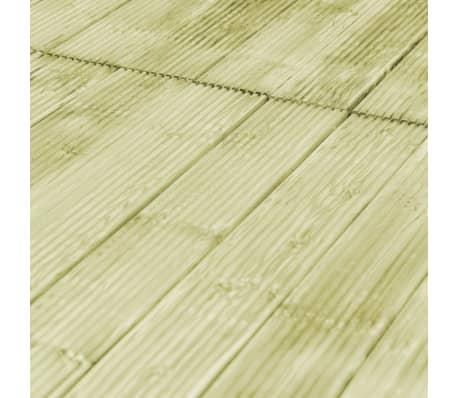 vidaXL Grindų dangos plokštės, 12vnt., 150x14,5cm, FSC mediena[4/4]