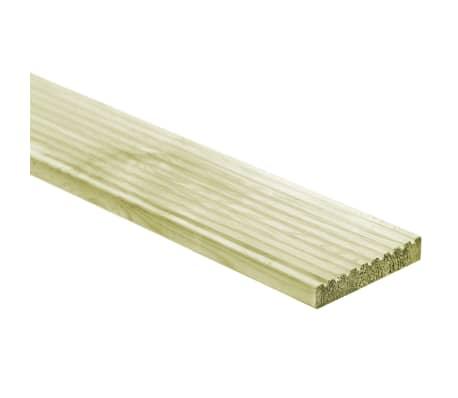 vidaXL Grindų dangos plokštės, 48vnt., 150x14,5cm, FSC mediena[1/4]