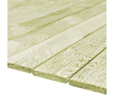 vidaXL Grindų dangos plokštės, 70vnt., 150x12cm, FSC mediena[2/4]