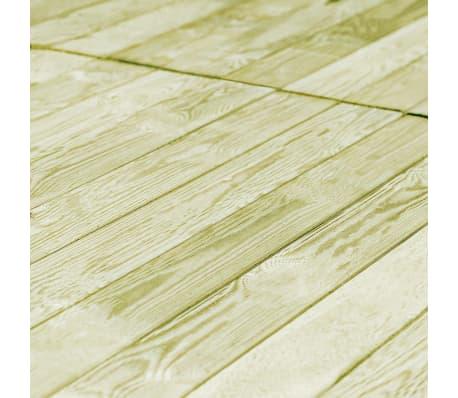 vidaXL Grindų dangos plokštės, 80vnt., 150x12cm, FSC mediena[4/4]
