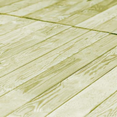 vidaXL Grindų dangos plokštės, 90vnt., 150x12cm, FSC mediena[4/4]