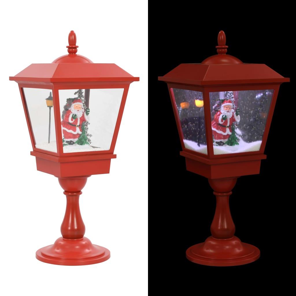 vidaXL Κολονάκι Φωτισμού Χριστουγεννιάτικο με Άγιο Βασίλη LED 64 εκ.