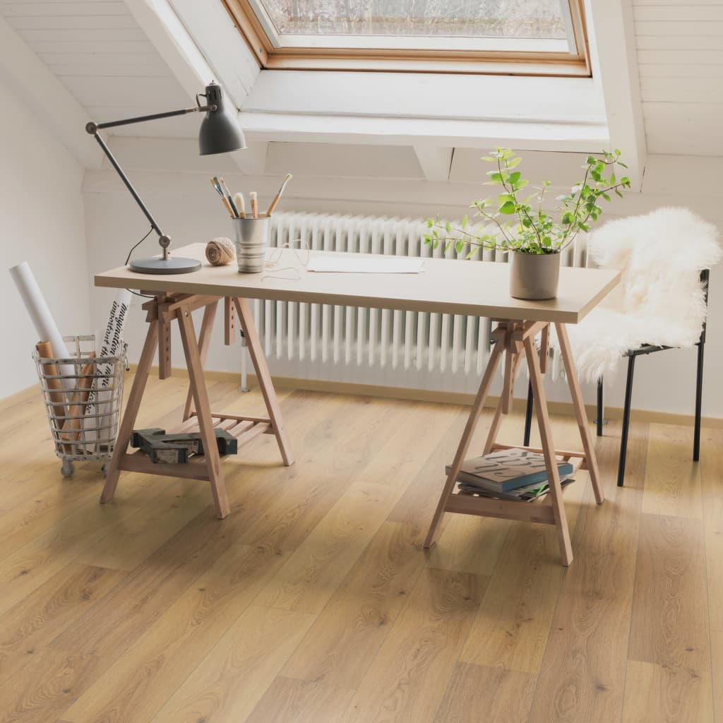 Egger Listoni per Pavimenti 19,9 m² 8 mm Oak Trilogy Natural