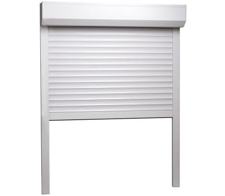 vidaXL Volet roulant Aluminium 70 x 100 cm Blanc[2/7]