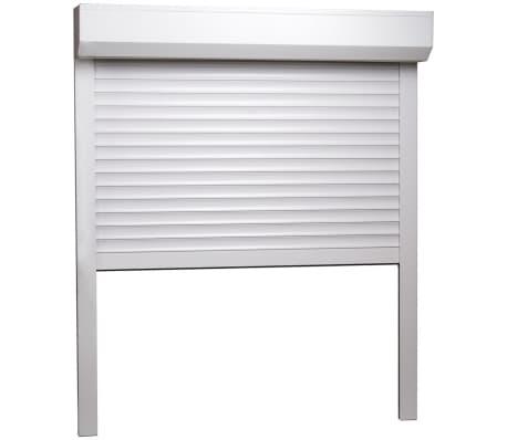 vidaXL Volet roulant Aluminium 80 x 100 cm Blanc[2/7]