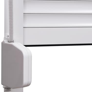 vidaXL Volet roulant Aluminium 80 x 100 cm Blanc[4/7]
