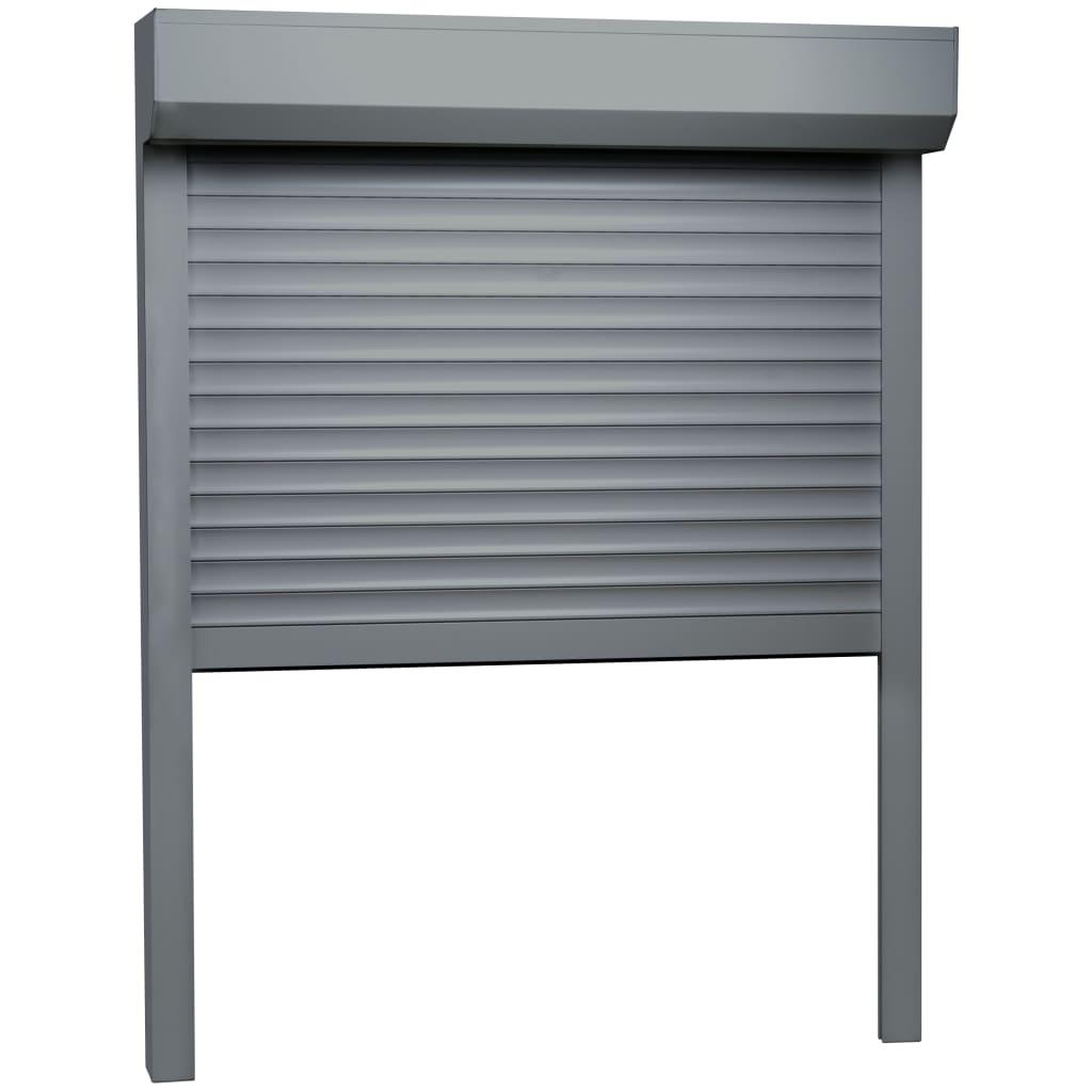 vidaXL Rolluik 70x100 cm aluminium antraciet