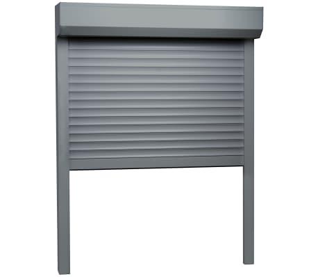 vidaXL Rolluik 70x100 cm aluminium antraciet[2/4]