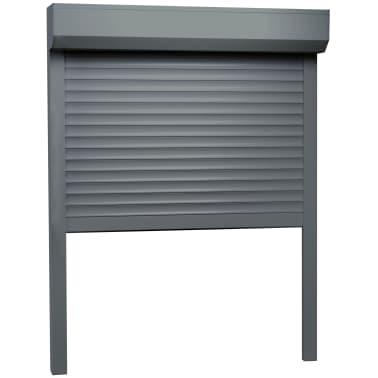 vidaXL Žaliuzės, antracito sp., 110x130cm, aliuminis[2/4]