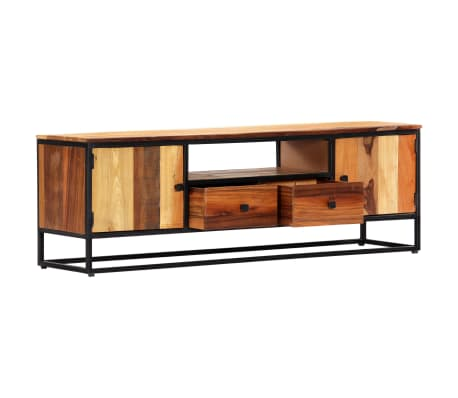 vidaXL Tv-meubel 120x30x40 cm massief gerecycled hout en staal[13/14]