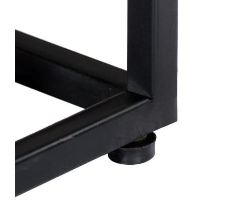 vidaXL Tv-meubel 120x30x40 cm massief gerecycled hout en staal[10/14]