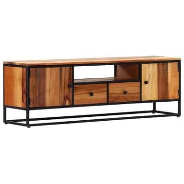 vidaXL Tv-meubel 120x30x40 cm massief gerecycled hout en staal[12/14]
