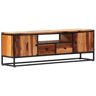 vidaXL Tv-meubel 120x30x40 cm massief gerecycled hout en staal[14/14]