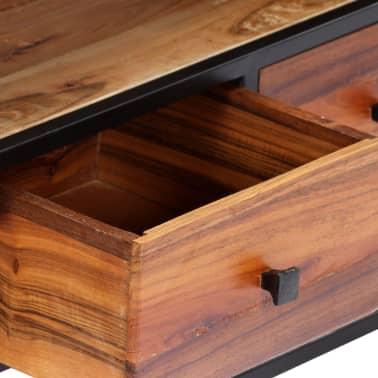 vidaXL Tv-meubel 120x30x40 cm massief gerecycled hout en staal[4/14]