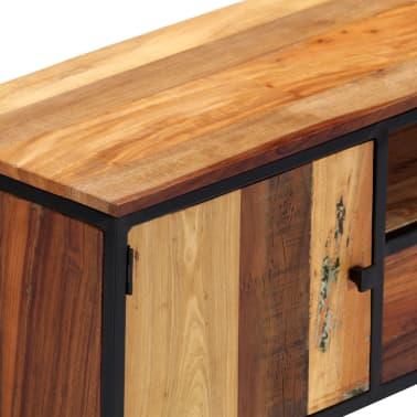 vidaXL Tv-meubel 120x30x40 cm massief gerecycled hout en staal[5/14]